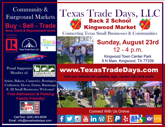 August 23, 2020 Kingwood Market