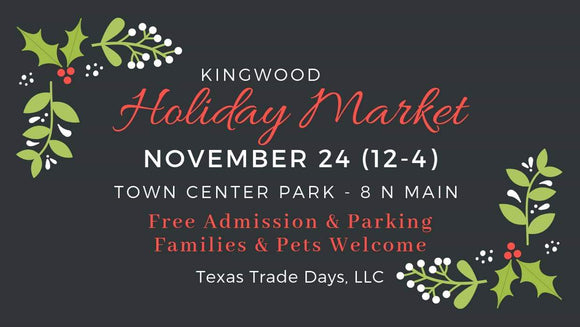 November 24, 2019 Kingwood Market