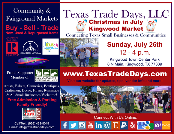 July 26, 2020 Kingwood Market