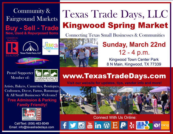 March 22, 2020 Kingwood Market