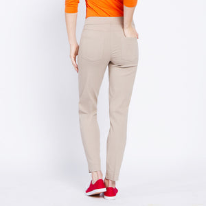 Pull On Golf Ankle Pant - Stone
