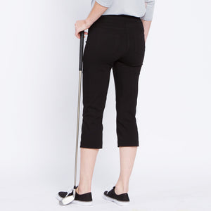 Golf Capri with Pockets - Black