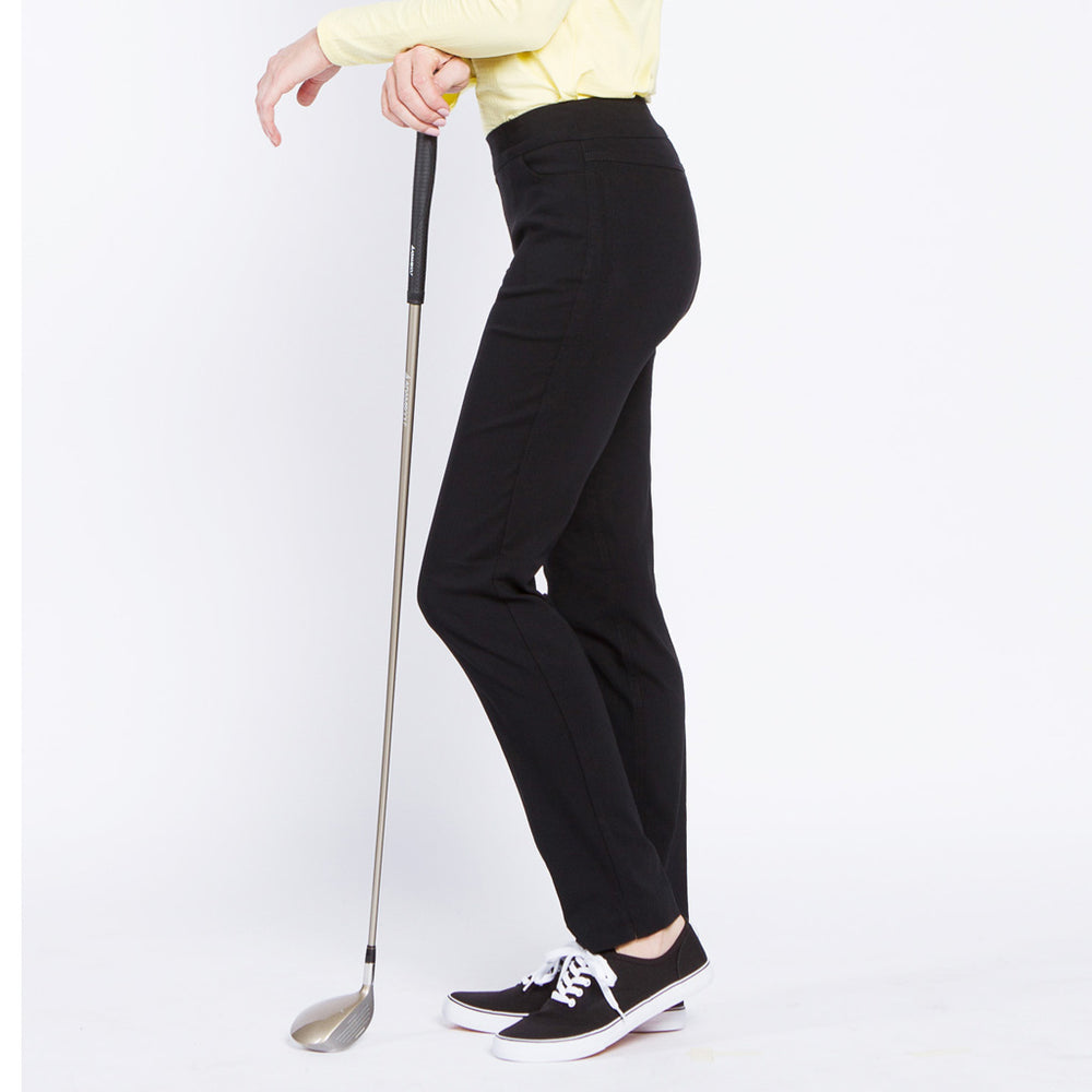 Golf Narrow pant with Pockets - Black