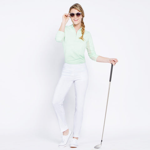 Slimsation Golf Narrow Pant - White