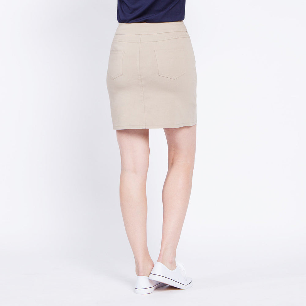Slimsation Golf Skort - Stone