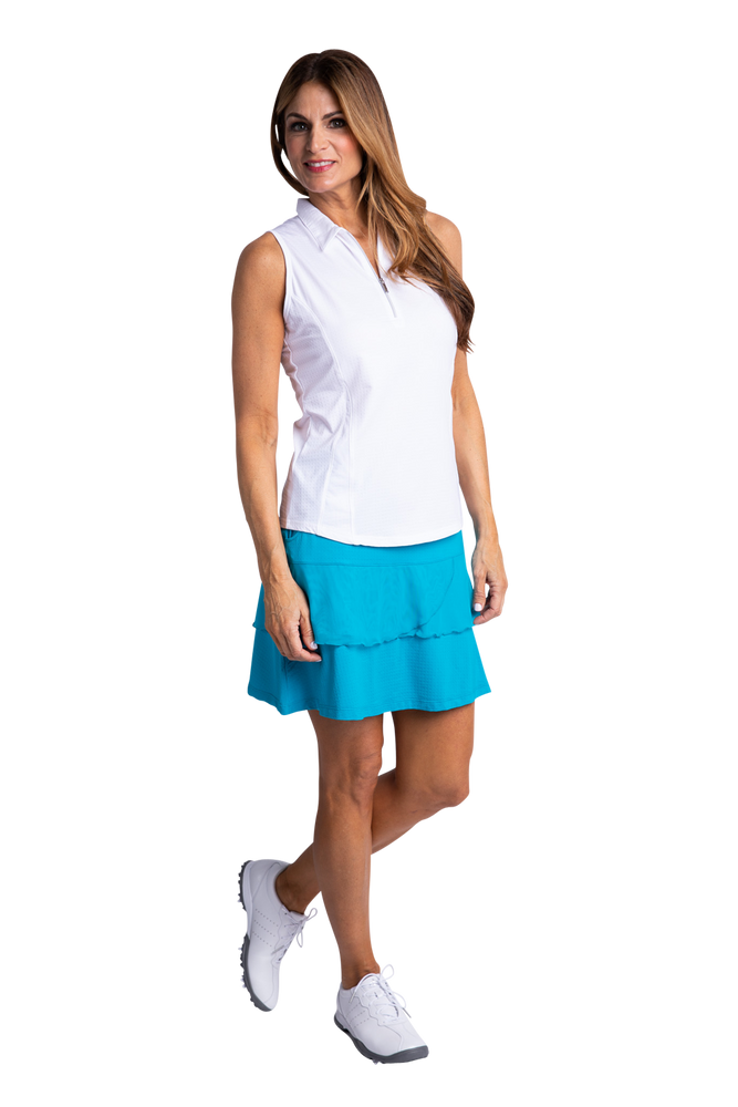 Bette & Court Wander Polo - White