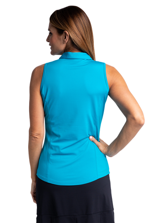 Bette & Court Wander Polo - Teal