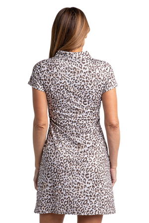 Sahara Sleeveless Print Dress