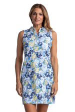Magnolia Sleeveless Print Dress