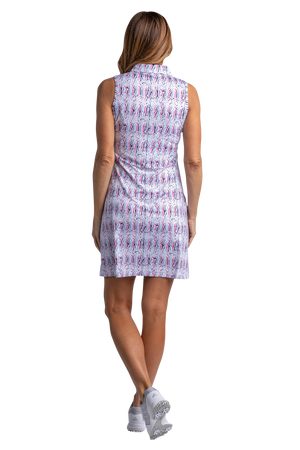 Swizzle Sleeveless Print Dress