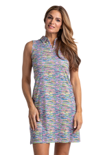 Borealis Sleeveless Print Dress