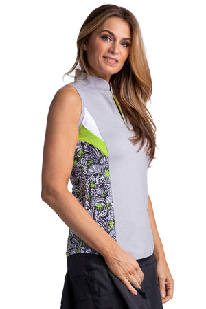 Bette & Court Emerge Sleeveless Polo
