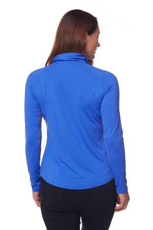 Sunscape Polo - Cobalt