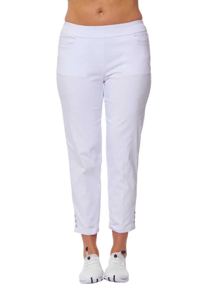 Slimsation Snap Crop - White