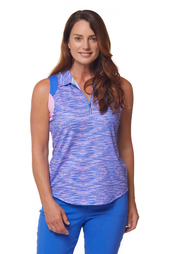 Aura Sleeveless Polo