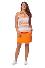 Flip Skirt- Orange Crush