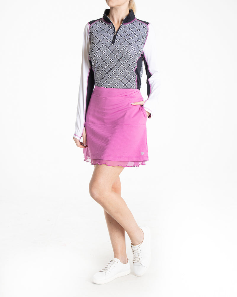 Flip Skirt - Mulberry