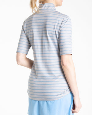 Birdie Polo - Feather Grey Heather