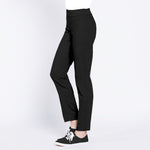 Pull On Golf Ankle Pant - Black