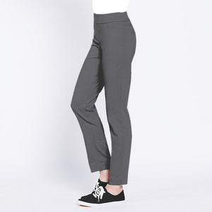 Pull On Golf Ankle Pant - Charcoal