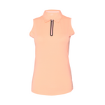Utopia Sleeveless Solid Polo - Sherbet