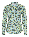 Camo Long Sleeve Polo