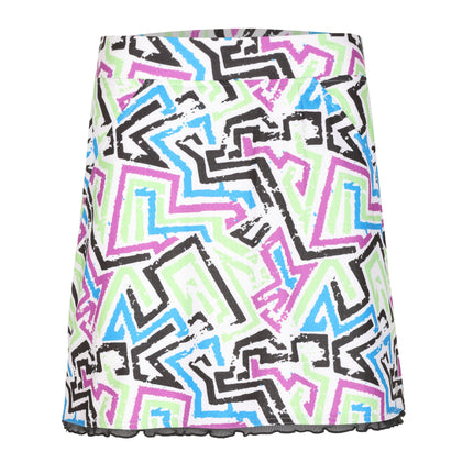 Animal Pull On Print Skirt