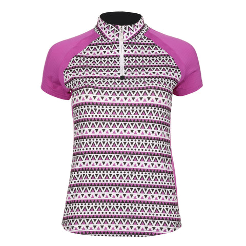 Harmony Short Sleeve Print Polo