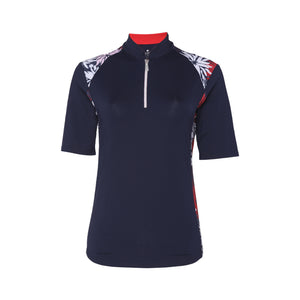 Chrissy Short Sleeve Polo