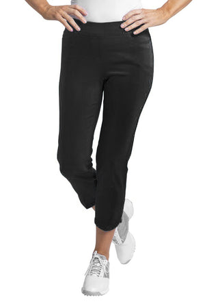 Slimsation Dolphin Crop Pant - Black