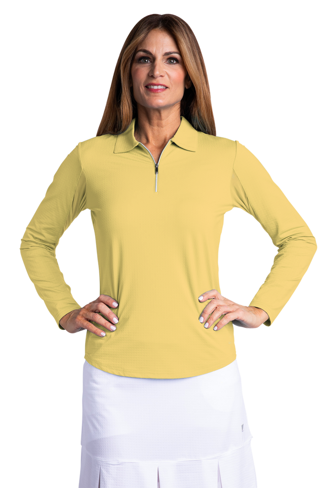 Bette & Court Long Sleeve Polo