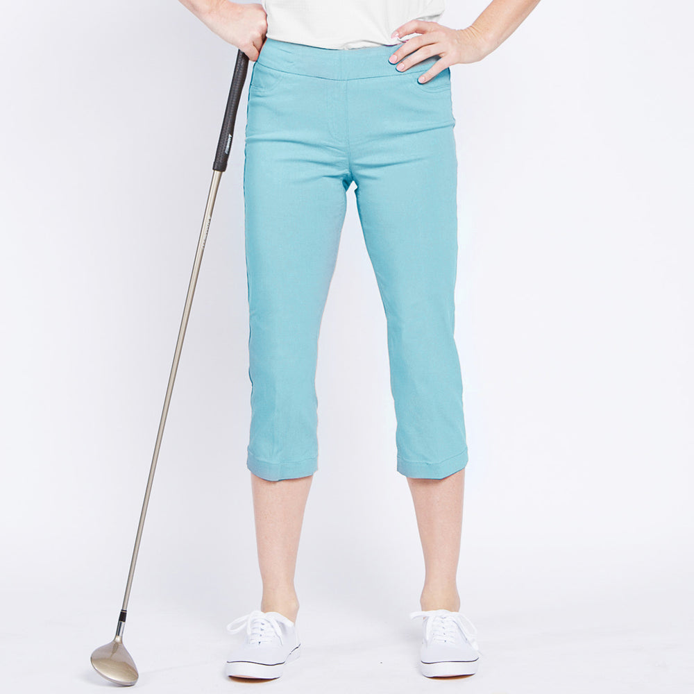 Slimsation Golf Capri - Aqua