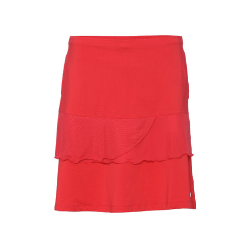 Swing Skirt - Crimson