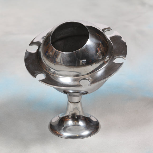 Polished Aluminium Saturn Ice Bucket / Champagne Cooler 31 x 27 x 27cm