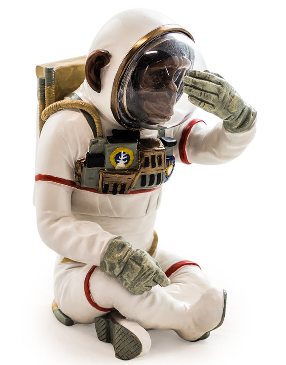 Astronaut Space Chimpanzee - See No Evil 33 cm High
