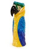 Large Ceramic Parrot Macaw Vase 36 cm Tall