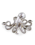 Octopus Candlestick in Silver - Holds Four Candles - 14 x 28 x 28 cm