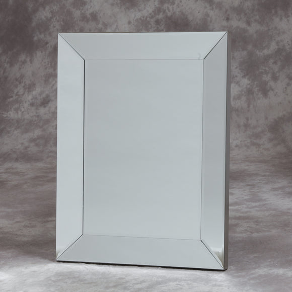 Large Bevelled Venetian Mitre Wall Mirror 96 x 76 cm - Due April