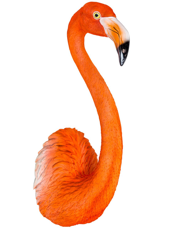 Large Flamingo Head Wall Hanging