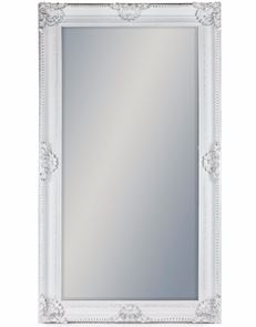 Ornate Antique White Classic Mirror 210 x 117 x 10 cm NEW