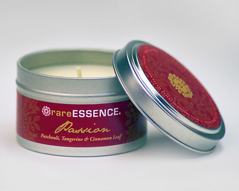 Passion Travel Tin Candle