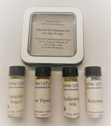 Essential Oil Treatment Kit for Hair Growth