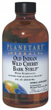 Old Indian Wild Cherry Bark Syrup 8oz