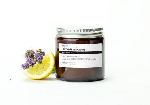 Candle Lavender Lemonade 4oz