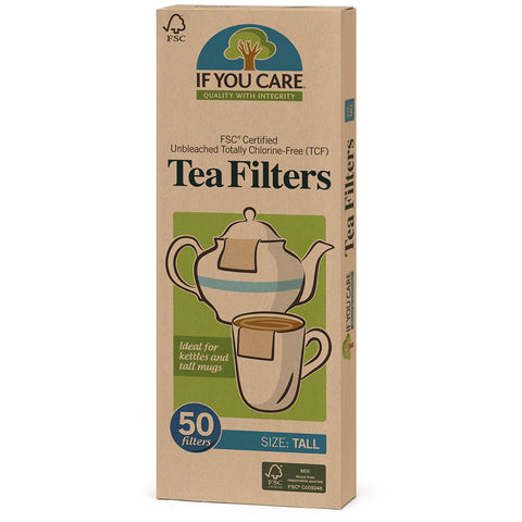 Tea Filters Tall 50 count