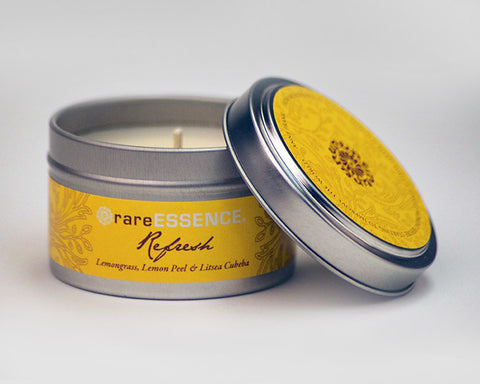 Refresh Travel Tin Candle