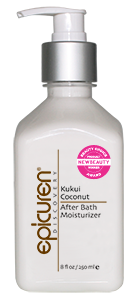 Epicuren Kukui after bath moisturizer 8 oz