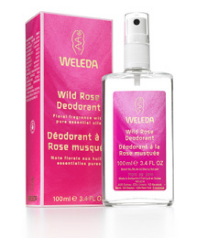 Weleda Wild Rose Spray Deodorant 3.4 oz
