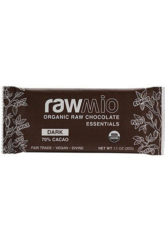 RawMio Essentials Dark Chocolate Bar 1.1 oz