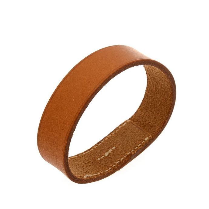 Hermes Pour Tour Leather Bangle 19.5cm